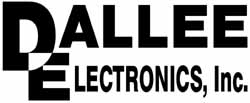 Dallee Electronics Logo - Black and White